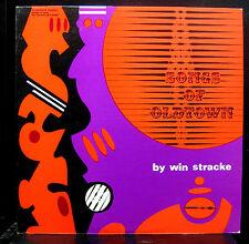 Win Stracke - Songs Of Oldtown LP Mint- FEL S-912 Stereo 1968 Chicago RARE Folk