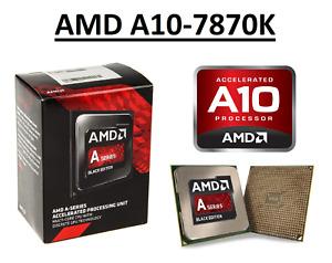 AMD A10-7870K Quad Core Processor 3.9 - 4.1 GHz, Socket FM2+, 95W CPU