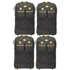 """Pack of 4, 40"""" Rolling Wheeled Duffel Bag Spinner Suitcase Duffle Bag Luggage"""