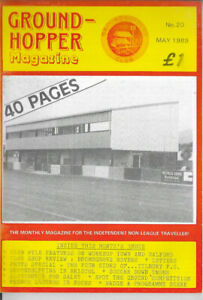 GROUND-HOPPER (Non League Football Magazine) Issue no.20 dated May 1989