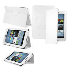 Smart Foldable Case For Google Nexus 7, Stylus & Screen Protector Pack - White