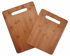 Wood Cutting Board Set 2 Large Chopping Cleave Food Cooks Kitchen Chef Utensils