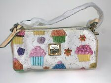 Dooney & Bourke Cupcakes Barrel Bag Handbag Small Purse Colorful Brand New