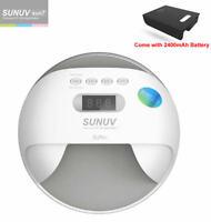 SUNUV 48W SUN7 Wireless LED UV Nail Lamp Led Nail Light Nail Dryer UV Lamp