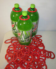 Carnival Ring Toss Game Cane Rack Plastic Rings Party Supply Bottle Games