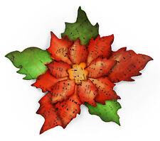 Sizzix Bigz Tattered Poinsettia die #658261 Retail $19.99 Tim Holtz Alterations