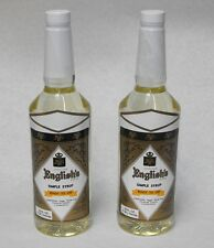 32oz. (2x) Jonathan English Bar Simple Syrup Cocktail Mixer Tiki Flair Free Ship