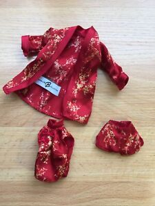 Barbie Silkstone Fashion Model Chinoiserie Red Moon Outfit