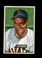 1951 BOWMAN #308 TED BEARD EXMT RC ROOKIE PIRATES  *XR14636