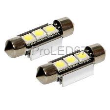 2 Bombillas con LED smd BLANCO lanzaderas 35 luz iluminación Luces desde placa