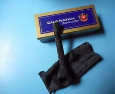 PIPA DRITTA LUNGA RUSTICATA CHARATAN'S MAKE 30120 LONDON ENGLAND GIÀ FUMATA SCAT