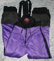 NEVICA Insulated Waterproof Winter Snow Ski Snowboard Pants wi/Suspenders Sz 38