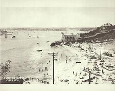"NEWPORT BEACH Corona del Mar PALISADES CLUB Art Photo Print 1152 11"" X 14"""