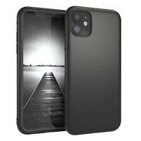 Für Apple iPhone 11 Hülle Soft Case Silikon Cover Schutzhülle Tasche Schwarz