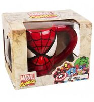 MARVEL COMICS - SPIDER-MAN 3D MUG IN GIFT BOX - BRAND NEW GREAT GIFT