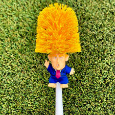 US Donald Trump hand made Toilet Bowl Brush Funny Gag Gift Christmas Xmas LN