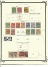 Great Britain Collection 1911-1919 on Scott Vintage Page