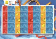 2006 GB.- FULL SMILER SHEET - HELLO FROM BELGICA EXHIBITION - MNH