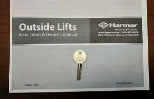 Harmar Universal Scooter Lift Replacement Key (Hundreds Sold!)