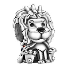 PANDORA Charm Element 799032 C01 Union Jack Lion Löwe Silber Bead