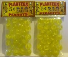 2 Bags Of Planters Peanuts 5 Cent Bag Promo Marbles