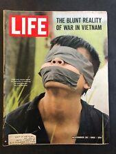 Life Magazine November 26 1965 Vietcong Prisoner