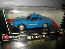 1:24 Bburago Bijoux Renault Alpine A110 Gendarmerie in OVP