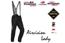 RUKKA AIRVISION LADY C2 GORE-TEX MOTORCYCLE PANTS - REG BLACK - SIZE EU 36/US 04