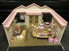 Calico Critters Sylvanian Families Village Cake Shop Bakery RETIRED