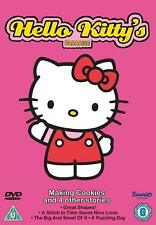 Hello Kitty Paradise - Making Cookies - DVD - BRAND NEW SEALED