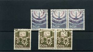 TELEVISION INDUSTRY ,- CZECHOSLOVAKIA  sc825/25  6 STAMPS  N/G 1957