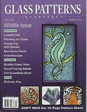 Stained GLASS PATTERNS QUARTERLY Magazine WINTER 2014