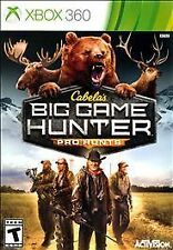 XBOX 360 Cabela's Big Game Hunter Pro Hunts Game - BRAND NEW SEALED
