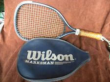 Wilson Marksman Racquetball Racquet and cover - Euc - Eb151