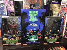 NECA Teenage Mutant Ninja Turtles Super Shredder With Shredder And Foot Soldier