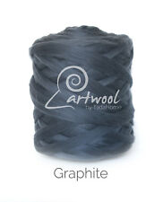 Graphite -  1 kg 100% Merino Wool Giant Chunky Yarn Arm Knitting