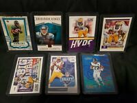 Leonard Fournette Lot - 7 Football Cards- many Rookies Jacksonville Jaguars LSU