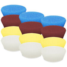 "Buff and Shine Uro-Tec 3"" Foam Pad 12 Pack - You Pick!"