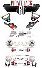 1965-68 Impala 4 Wheel Performance Pwr Disc Conversion Kit & Control Arm Package
