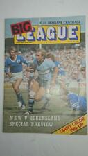 Big League Magazine May  21 -27   1977  NSW Vs Queensland
