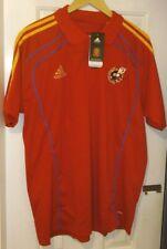 España Adidas Partidarios Camisa Polo 2010/2011 Temporada. Talla XL/XXL. BNWT
