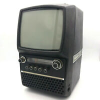 Silelis 403D Vintage Soviet Black And White TV Rare Collectible USSR Antique Old