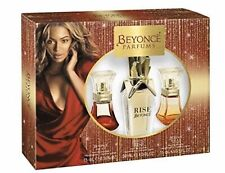 Beyonce parfums Womens Perfume 3 Pc Gift set brand new unopened in Dented Box
