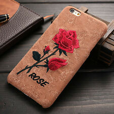3D art print flower roses hard case for IPhone 6 6s 4.7 plus 5.5 cover