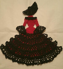Crochet Crinoline Lady Doily - Senorita