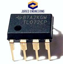 20PCS TL072CP TL072 Low Noise JFET Dual Op-Amp DIP-8 - New