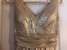 bill levkoff Bridesmaid Evening Sequins Stunning Size 6