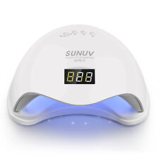 SUNUV SUN5 36W UV LED Nail Lamp for Gel Polish Curing Dryer new with uk adaptor