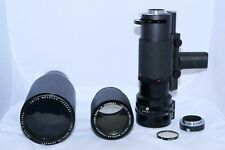 Leica Telyt-R 400mm f5.6 and 560mm f5.6 with Televit Grip Two Lens Outfit. a7RII