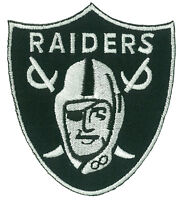 Patche écusson RAIDERS L.A. thermocollant applique patch football brodé